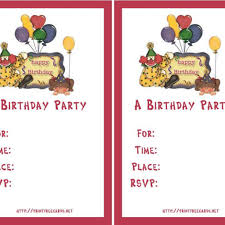 birthday invitation maker online free printable invitations