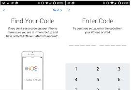 move from android to iphone apple s move to ios android app only works with new or reset ios