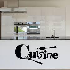 vinyl mural cuisine wall stickers cuisine vinyl wallpaper mural fork spoon