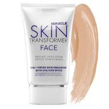 miracle skin transformer light miracle skin transformer face broad spectrum spf20 48 sephora com