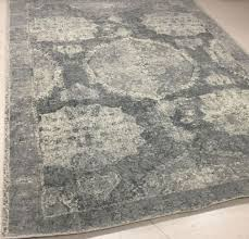 Pottery Barn Area Rugs Pottery Barn Barret 8 X 10 Wool Area Rug In Grey 5231063 Ebay