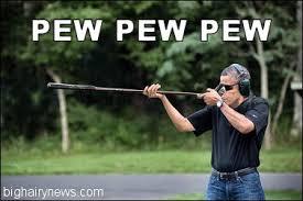 Obama Shooting Meme - obama a crazed gun nut big hairy news