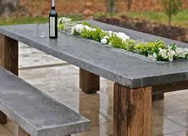 Concrete Patio Table Set Concrete Patio Table Objectifsolidarite2017 Org