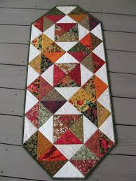 Fall Table Runners by Quilted Table Runner Keeping Just The