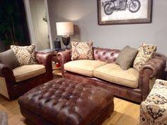 Leather And Tapestry Sofa Eastwood French Country Living Room Pinterest Products And Sofas