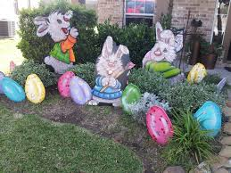 Easter Decorations To Make Pinterest by My Easter Yard Art Decorations Www Muralsfauxnmore Com Murals