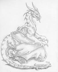 pencil dragon i by thedragonmystic on deviantart