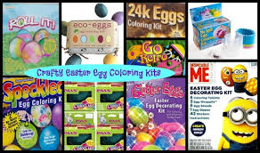 easter egg coloring kits crafty easter egg coloring kits freebies deals steals