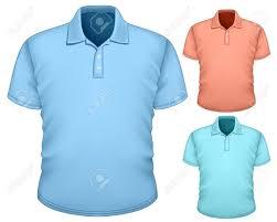 men s polo shirt design template royalty free cliparts vectors