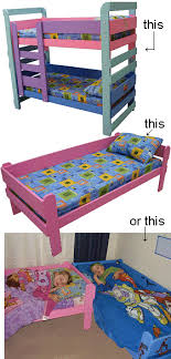 Children Bunk Bed 31 Diy Bunk Bed Plans Ideas That Will Save A Lot Of Bedroom Space