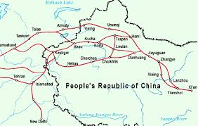 map of the road silk road map silk road map china tour map resources