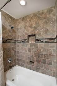 modern glass tile backsplash bathtub subway bathroom and repair