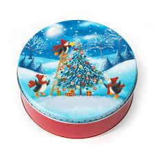 christmas tree cookie tin freed u0027s bakery