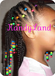 braid hairstyles for black women with a little gray yarn twists protective hairstyle for black girl with beads little