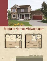 2 Story Log Cabin Floor Plans Two Story Colonial Modular Home Floor Plans Dream Home