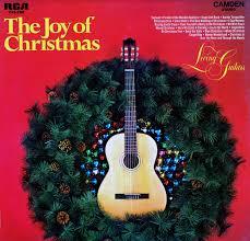 living guitars the joy of christmas cas2332 christmas vinyl