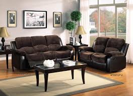 Double Reclining Sofa by Homelegance 2pcs Cranley Chocolate Double Reclining Sofa Set