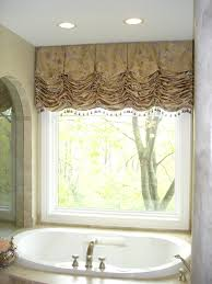 Bathroom Window Covering Ideas Compact Balloon Valance Idea 105 Balloon Valance Ideas Valance