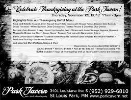 celebrate thanksgiving park tavern
