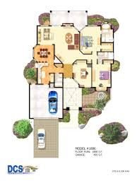 colored floor plans corglife