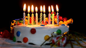 birthday cake candles time lapse burning birthday cake candles no sound in file stock