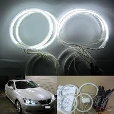 lexus is 250 xenon headlights aliexpress com buy super bright 4pcs ccfl angel eyes halo rings