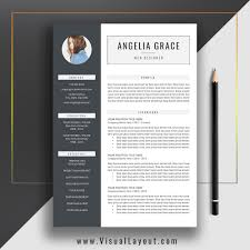 Instant Resume Template Resume Template The Angelia Resume Instant Download