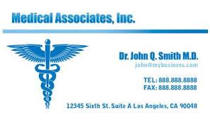 Medical Business Card Design Health U0026 Beauty Business Cards Print Design Gallery Free Health