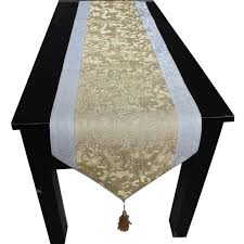 luxury damask table runner free shipping 3d embossed jacquard damask luxury lamie table runner