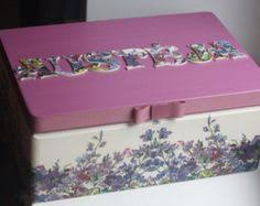 Personalized Jewelry Box For Baby Wooden Personalized Baby Keepsake Box By Diumont On Etsy 59 00