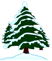 snow clipart snow covered tree pencil and in color snow clipart