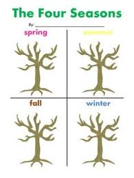 learn the four seasons seasons worksheets and worksheets