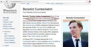 Wikipedia Meme - the otter meme has invaded wikipedia benedict looks like he doesn t