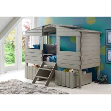 Donco Bunk Bed Donco Treehouse Loft Bed Hayneedle