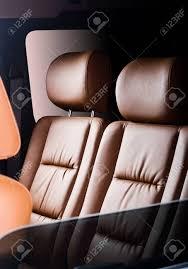 si e voiture sièges passagers arrière en voiture moderne et confortable banque d