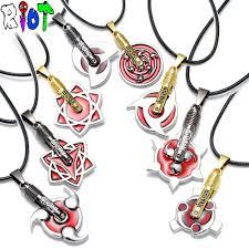 naruto anime necklace images 8 styles anime naruto necklace kakashi uzumaki akatsuki members jpg
