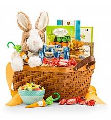 basket easter easter bunny chocolate basket gourmet gift baskets a