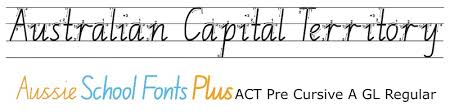 australian capital territory modern foundation style act