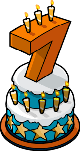 Image 7th Anniversary Party Cake Png Club Penguin Wiki