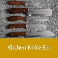 chax handmade knives culinary knives kitchen set 2