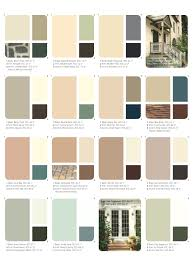 exterior paint color charts elearan com