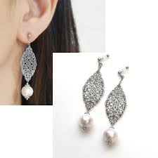 silver clip on earrings the best place you can get innovatively comfortable and pierced look