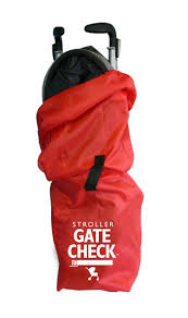 amazon com jl childress gate check bag for car seats red baby