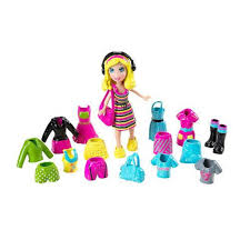 polly pocket polly popsters doll fashions headphones toys