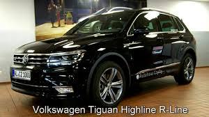 volkswagen tiguan volkswagen tiguan 2 0 tdi dsg highline r line hw311431 deep black