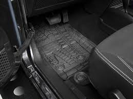 jeep wrangler mats mopar wrangler slush all weather front rear floor mats w jeep