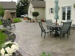 Concrete Backyard Ideas Stamped Concrete Backyard Ideas U2013 Mobiledave Me