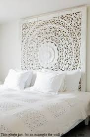 headboard wall art white washed carved wood wall art panel floral wall hanging