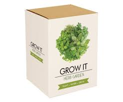 gift republic grow it grow your own herb garden amazon co uk
