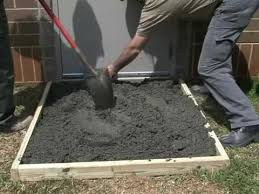 How Much To Concrete Backyard How To Make A Concrete Slab With Sakrete Youtube